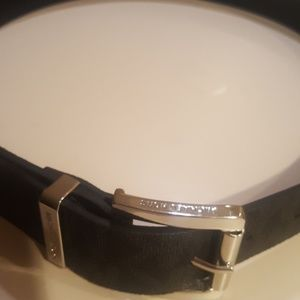 Michael Kors Signature Logo Belt S